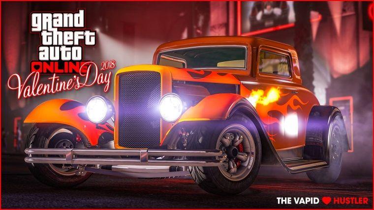 GTA: Online'da Sevgililer Günü'ne özel araç ve indirimler var