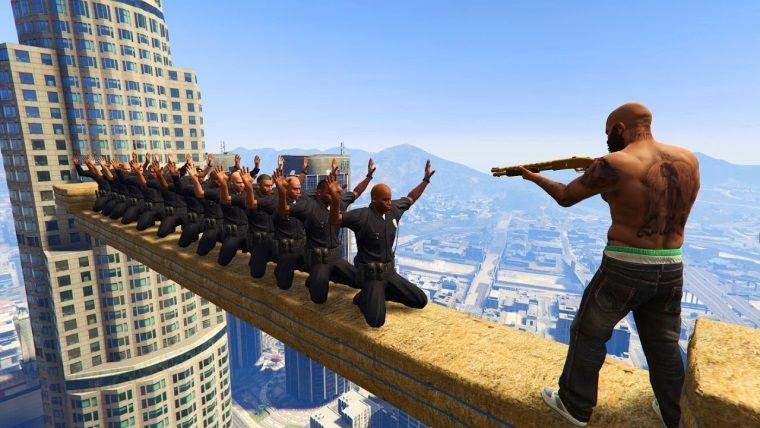 GTA 5'in en eğlenceli modlarından bir tanesi nihayet yayınlandı
