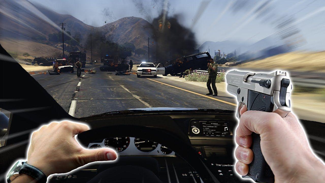 GTA 5 VR versiyonu için oyunu tamamen modladılar