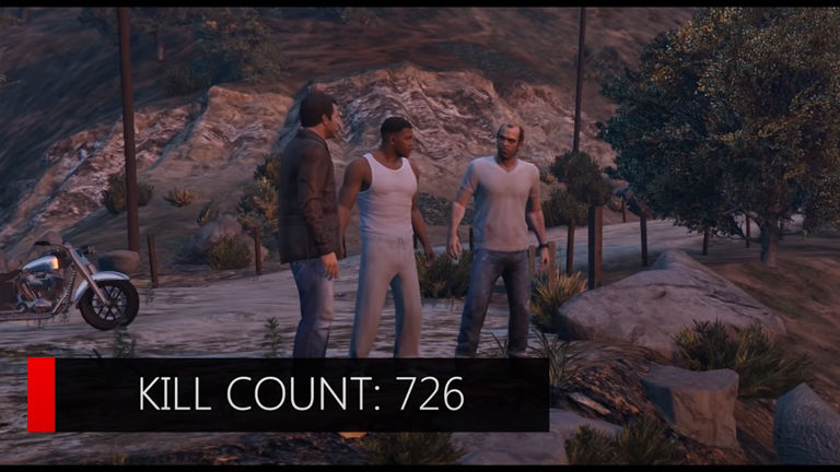 How many people die in GTA 5 main missions?