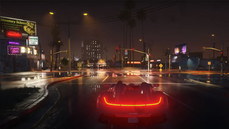 The game changes dimension with the GTA V graphics mode