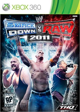 Smackdown Vs Raw 2011'in kutu tasarımı