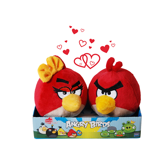 "Aşkın ""Angry Birds"" hali!"