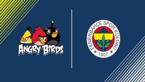 Fenerbahçe ve Angry Birds anlaşması yapıldı