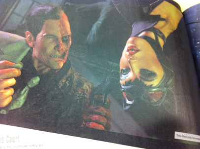 Two Face ve Catwoman, Arkham City'de