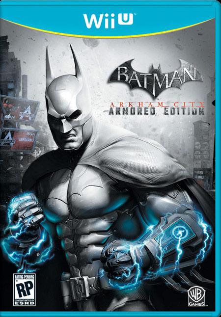 Batman Arkham City'nin Wii U kapağı capcanlı