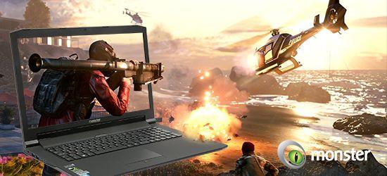 Oyun İçin Laptop Denildiğinde İlk Akla Gelen İsim Monster