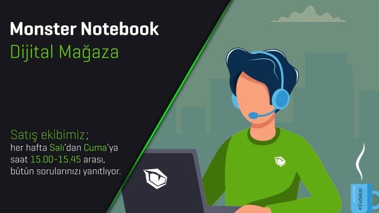 Monster Notebook dijital mağaza sistemini hayata geçirdi