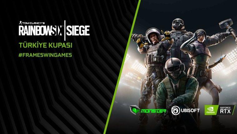 NVidia, Ubisoft ve Monster, 40.000 TL'lik Rainbow Six: Siege Türkiye Kupası'nı duyurdu