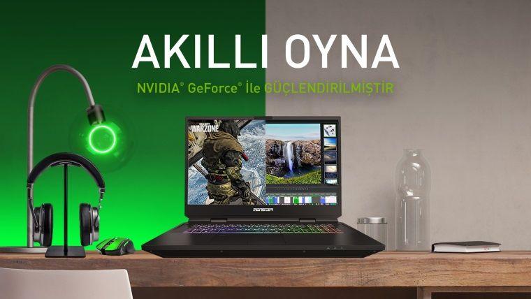 Öğrenciler için GeForce Ekran Kartı içeren en iyi Monster Laptoplar