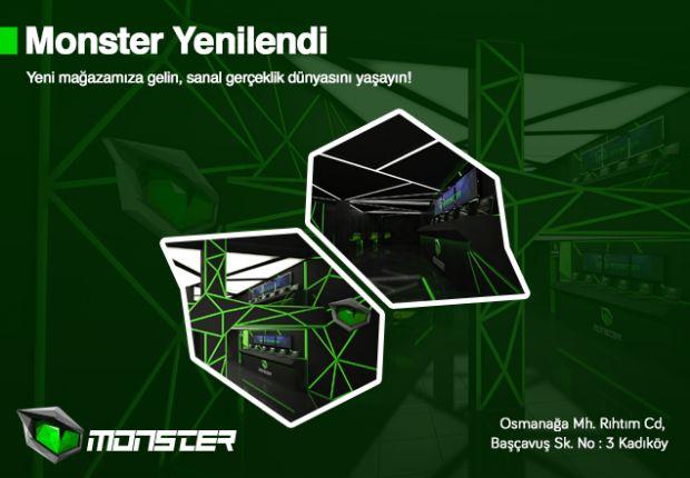 Monster, Oyun Dünyasını Bir Araya Getiriyor