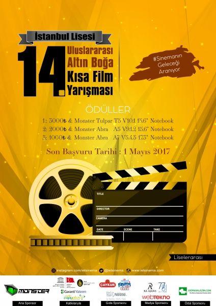 14. Uluslararası Altın Boğa Kısa Film Yarışması'nın Ana Sponsoru Monster
