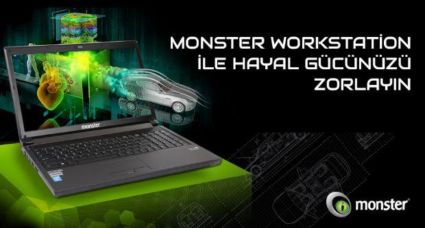 Monster Workstation İle Hayal Gücünüzü Zorlayın
