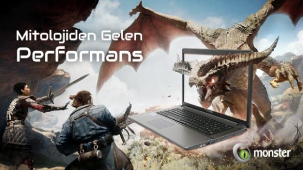 Taşınabilir Efsane Monster Oyun Bilgisayarı