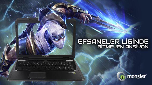 Efsane Gaming Laptop ile Efsaneler Ligi Devam Ediyor