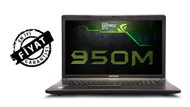 "Monster'dan Abra A7 V5.4 17.3"" Gaming Laptop Modeline Bayram İndirimi"