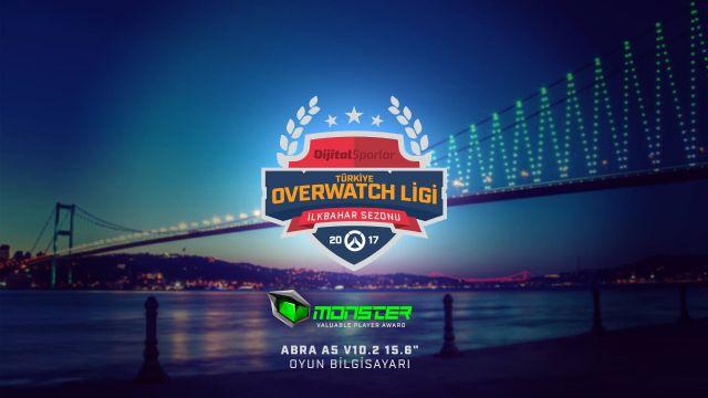 Monster Türkiye'nin İlk Overwatch Ligi'ne Ödül Sponsoru Oldu