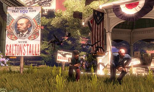 BioShock Infinite'de iç savaş