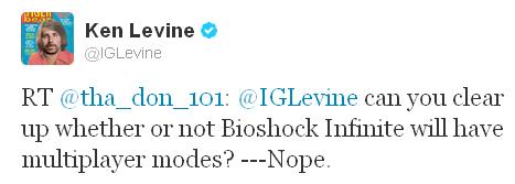 Bioshock yine tek başına
