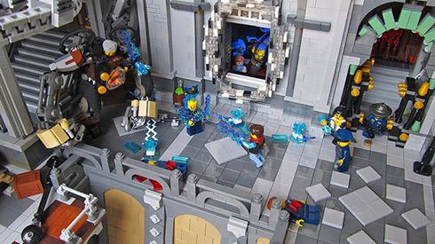 Bu BioShock Infinite LEGO'su gerçekten devasa