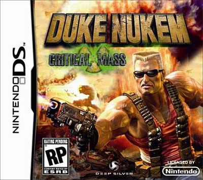 Duke Nukem Critical Mass'ın kutu tasarımı