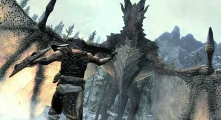 Dragonborn'un en zor düşmanı: Ebony Warrior