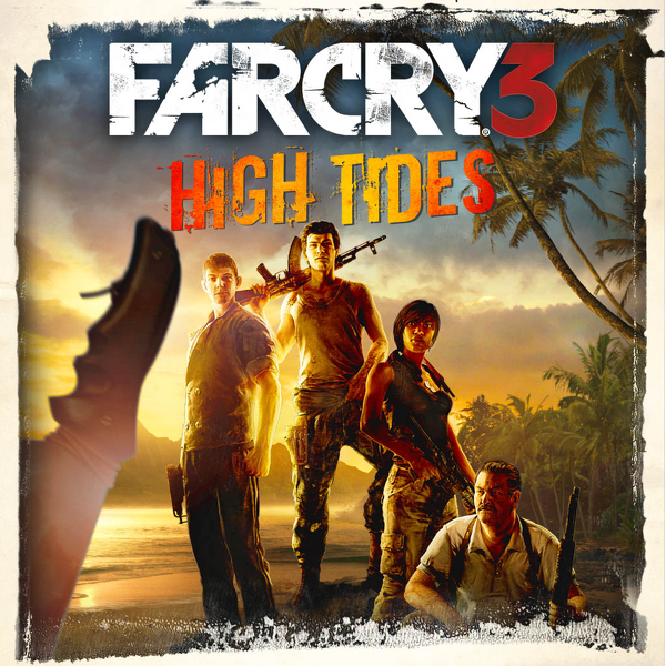 Far Cry 3 High Tides PS3 için özel