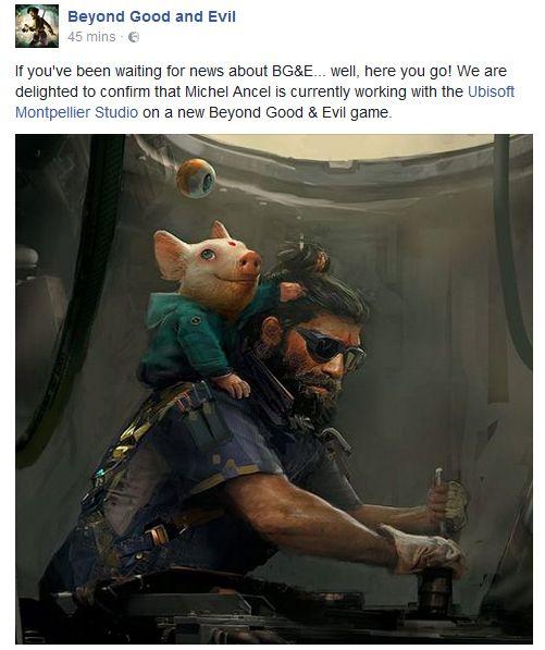 Ubisoft'tan doğrulama geldi: Beyond Good & Evil 2 Geliyor!