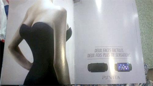 PS Vita dört memeli kadına benziyor