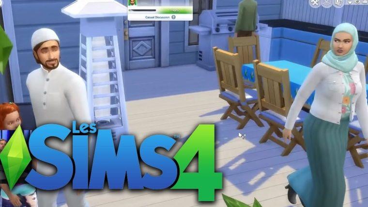The Sims 4'e İslami kıyafetler geldi