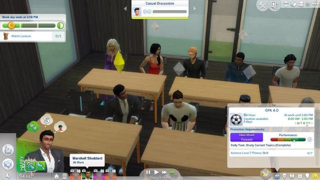 The Sims 4'te üniversiteye gitmek ister misiniz?