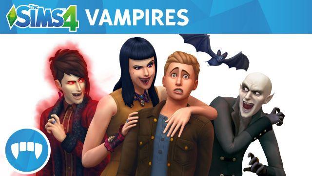 Sims 4'e Vampirler geliyor!