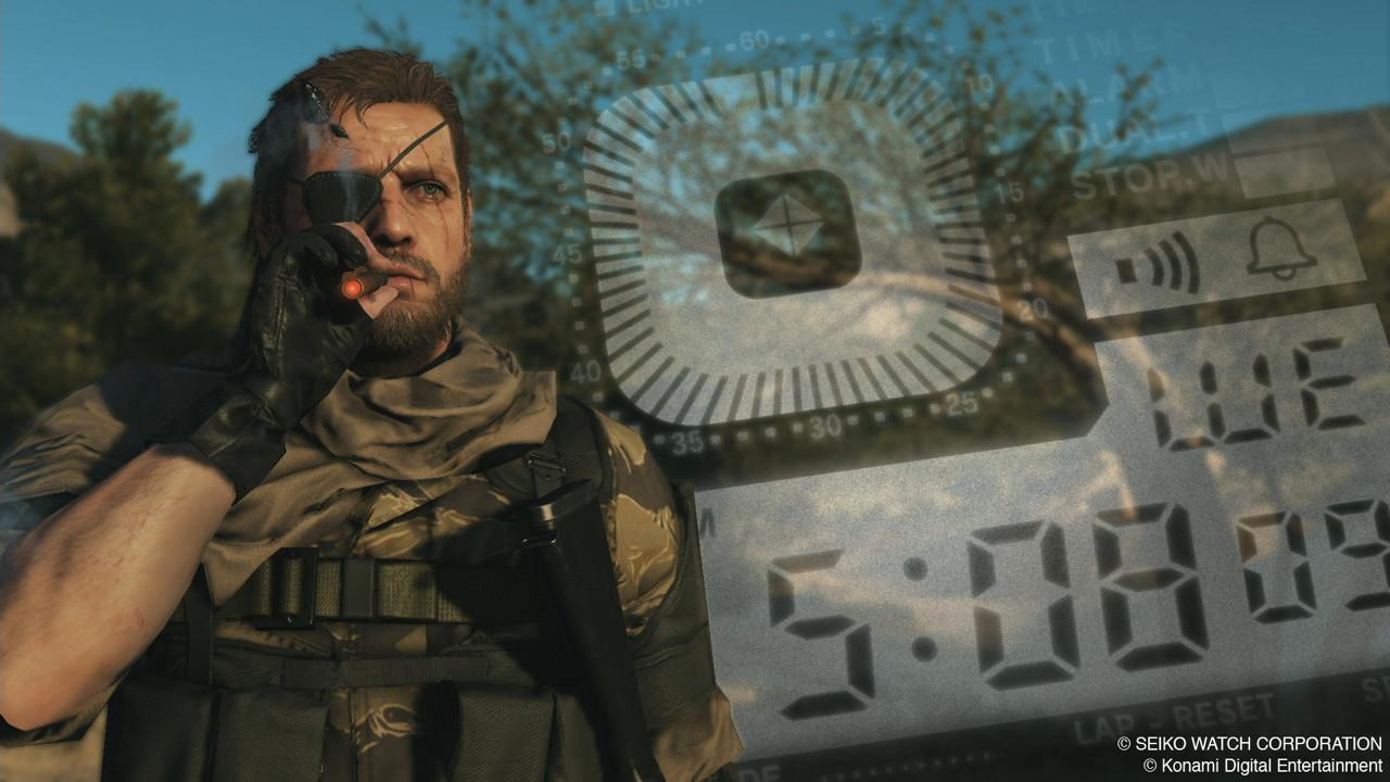 Metal Gear Solid 5'te slow motion tekniği bulunacak