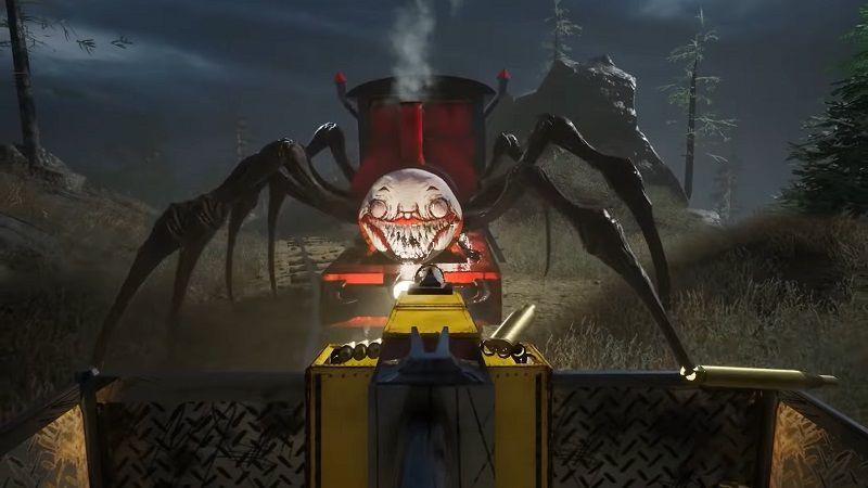 Örümcek Tren, kabusunuz olmaya geliyor