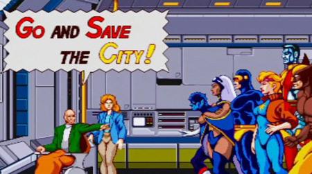 X-Men Arcade, PSN yolunda