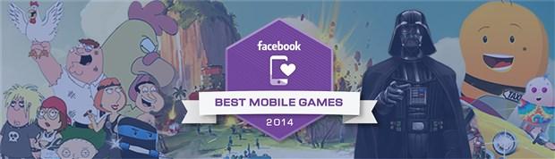 Facebook, 2014 yılında çıkan en iyi oyunlarını seçti