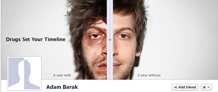 Facebook'ta uyuşturucu karşıtı kampanya