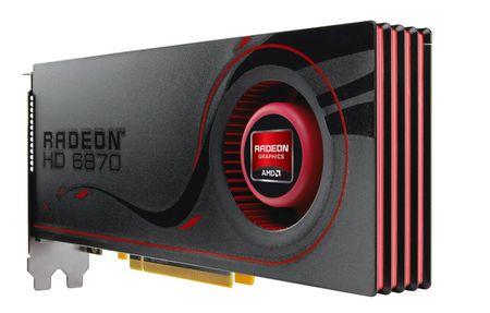 AMD Radeon HD 6870 ve 6850