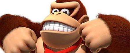 Getir muzu, götür Donkey Kong'u