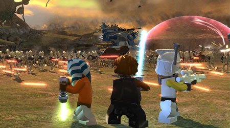LEGO Star Wars III için yeni ekran görüntüleri