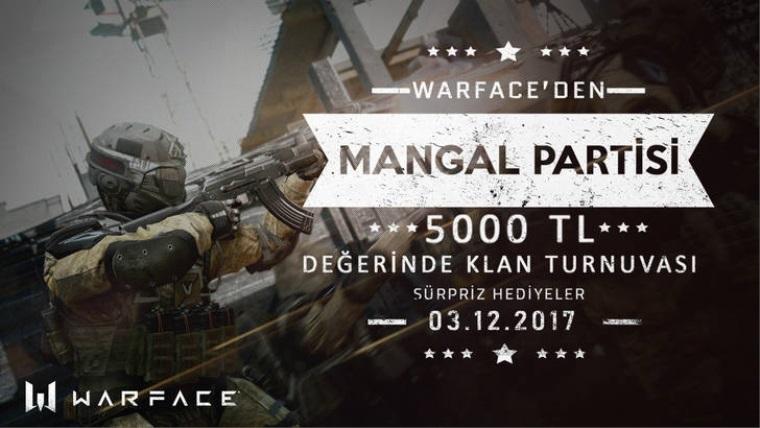 Crytek Türkiye'den Mangallı Warface turnuvası