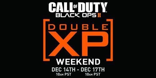 Black Ops 2'de çifte XP keyfi