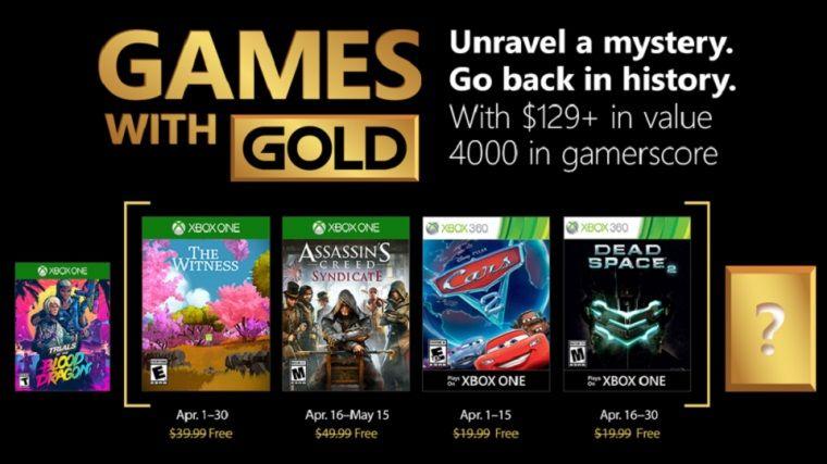 Nisan ayı için bedava Xbox oyunlarının listesi belli oldu