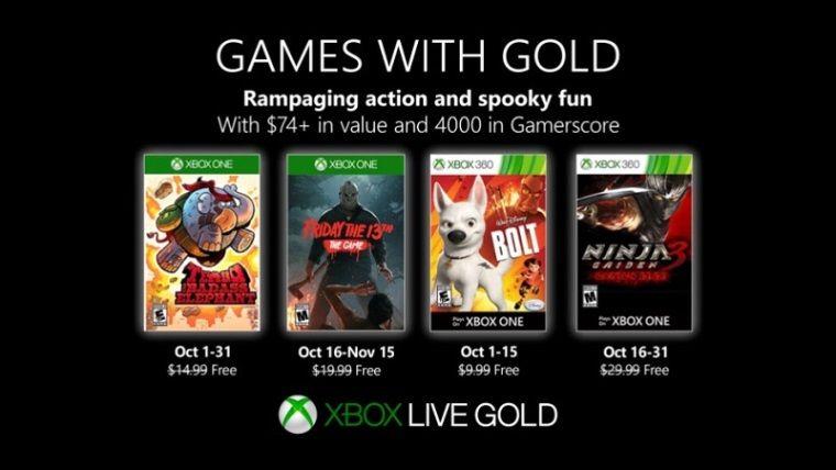 Xbox Live, Ekim ayının bedava oyunları belli oldu