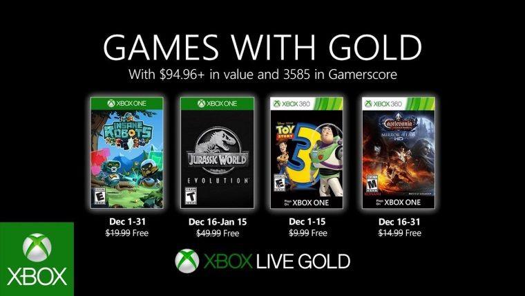 Xbox Live Gold Aralık ayı oyunları açıklandı
