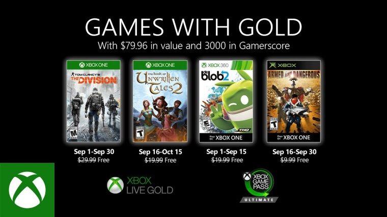 Xbox Live Gold Eylül 2020 ücretsiz oyunları belli oldu