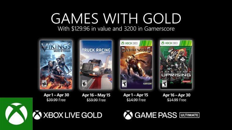 Xbox Live Gold Nisan 2021 ücretsiz oyunları belli oldu