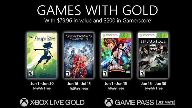 Xbox Live Gold Haziran 2021 ücretsiz oyunları belli oldu