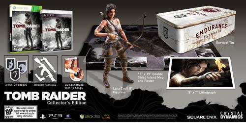 Tomb Raider'ın Collector's Edition kutu resmi belli oldu