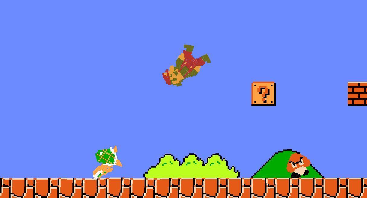 Kafası kendinden güzel Mario oyunu oynamak ister misiniz?